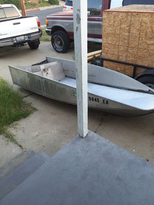 1960s fold-a-boat aluminum fishing boat all there needs work for Sale in La Mesa, CA