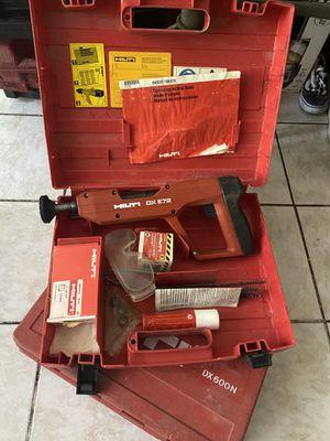 Hilti DX E72 Powder Actuated Nailer Nail Gun w/Case for Sale in Las Vegas, NV