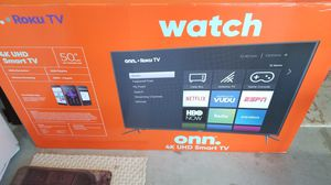 New onn Roku TV 50 inch for sale for Sale in Suwanee, GA