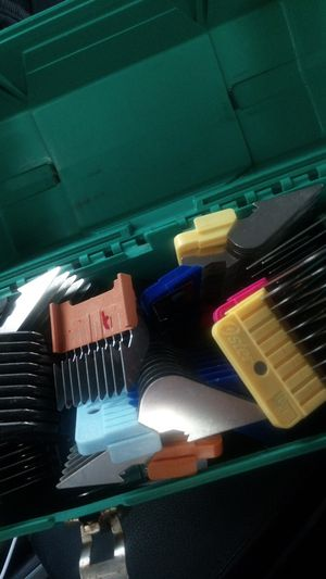 Wahl guard combs all sizes. Sold separately. $5 per for Sale in San Diego, CA