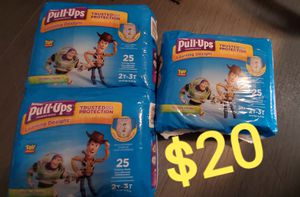 Huggies pull ups for Sale in Cleveland, OH