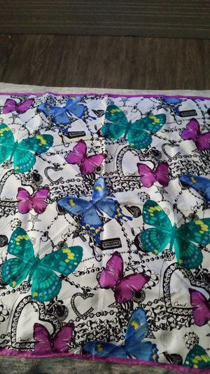 Coach Jewels and Butterflies Silk Scarf for Sale in La Habra, CA