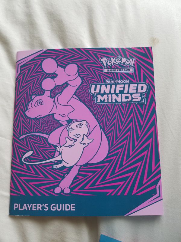 Pokemon Unified Minds Empty Elite Trainer Box