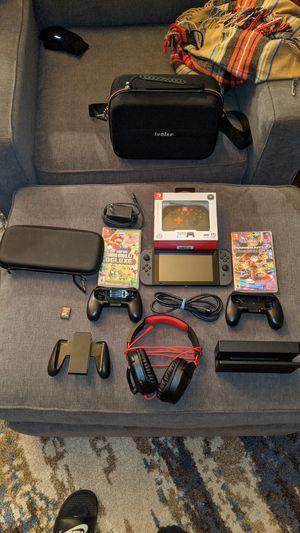 Nintendo Switch Black edition for Sale in Marysville, WA