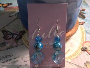 Glass Bead Earrings (handmade) for Sale in Mebane, NC
