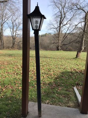 Used outdoor lamppost for Sale in Waterford, PA