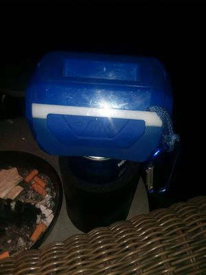 Nice Bluetooth speaker built-in charger FM radio LED lights make me a good offer all I want is $25 for it pick up today in Northeast Philly for Sale in Philadelphia, PA