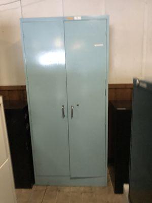 "78"" Height . Metal Storage Cabinet. Double Door Storage Cabinet. for Sale in Tampa, FL"