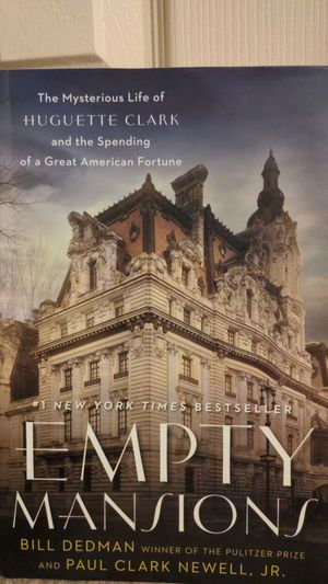 Empty Mansions New York Times Bestseller Book for Sale in Pittsburgh, PA