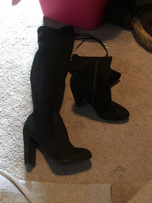 Above Knee Length Heels and Wedges 7.5 for Sale in Roseville, MI