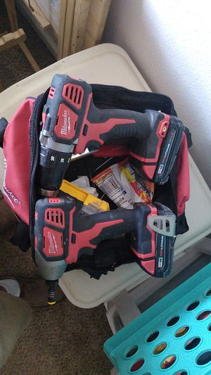 Milwaukee impact and drill. Also 2 batteries and charger. for Sale in Arvada, CO