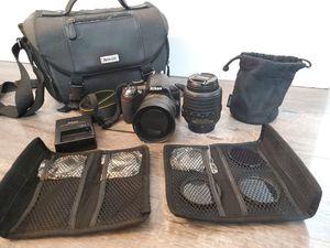 Nikon d3100 camera plus 2 lenses for Sale in Beaverton, OR