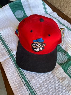 Mens American Needle Toons 1993 Popeye Brutus Red Adjustable Baseball Hat Cap for Sale in Fresno, CA