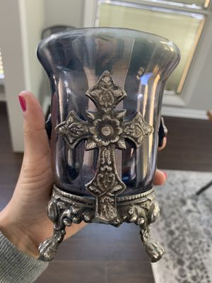 Cross candle holder for Sale in Maitland, FL