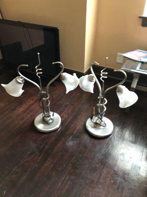 Flower lamps for Sale in Grosse Pointe Park, MI