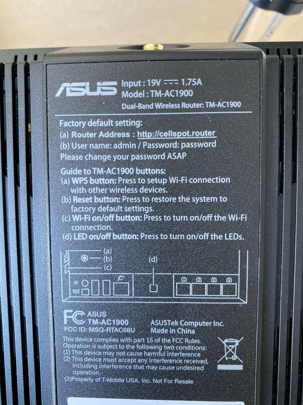 WiFi Router AC68U