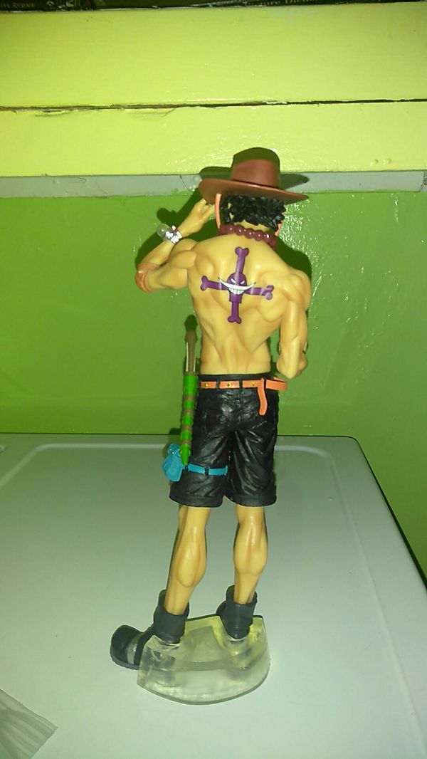 Ichiban Kuji One Piece Anime Series The Greatest! 20th Anniversary Prize C Proud Brother! Portgas D. Ace Figure