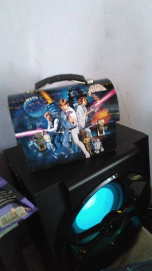 Star Wars Tin Lunch Boxes Pictionary Game & Lego Carrying Case for Sale in Santa Fe Springs, CA
