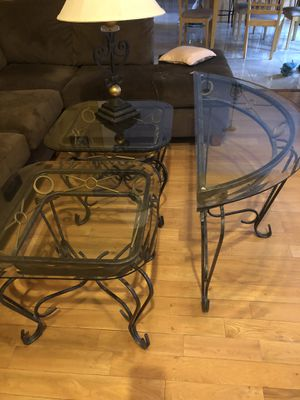 End tables, wall table, lamp lot for Sale in Berkeley Township, NJ