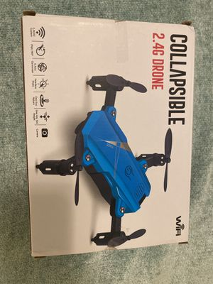 Collapsible 2.4G Drone black for Sale in Lawndale, CA