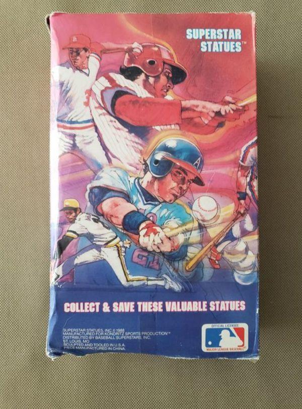 DWIGHT GOODEN NEW YORK---1988 BASEBALL SUPERSTAR STATUES --NEW !