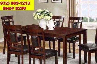 Dining table with chairs brand new 📦🌟(( delivery available))📦🚛 🚚 for Sale in Richardson,  TX