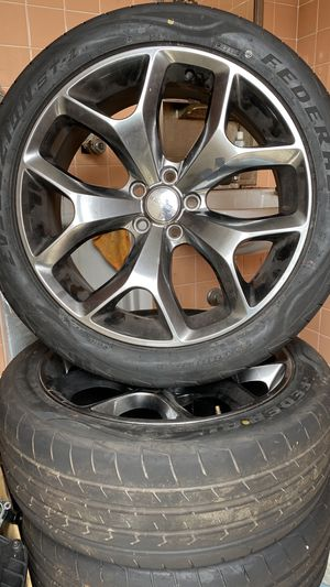 Charger and challenger rims size 20 for Sale in Largo, FL