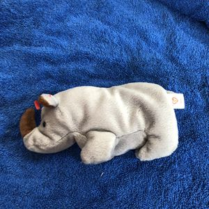 Rhino beanie baby no tag for Sale in St. Helens, OR