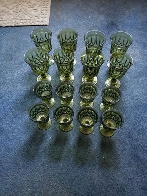 Antique glass drinking glasses for Sale in IL, US