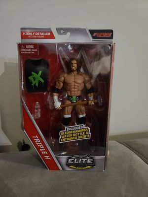 WWE Elite Collection Flashback: Triple H DX - Raw for Sale in Stafford, VA