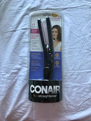 "Conair 3/4"" Straightener for Sale in Pittsburgh, PA"