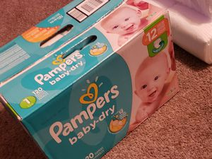 Pampers size 1 for Sale in Garland, TX