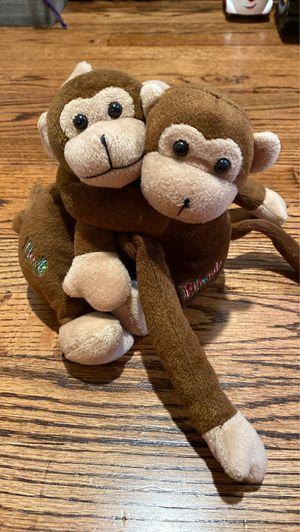 Best friend stuffed animal monkeys for Sale in Portsmouth, VA