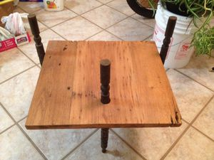 Antique side table for Sale in Durham, NC