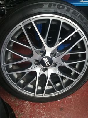 5x112 BBS CS5 (3 rims and tires) for Sale in Aurora, IL