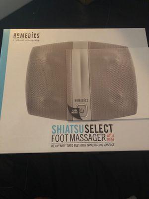 Homedics Shiatsu Select Foot Massager with Heat for Sale in Suisun City, CA