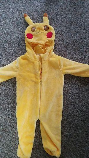 Pokémon Pikachu plush kids costume for Sale in Agawam, MA