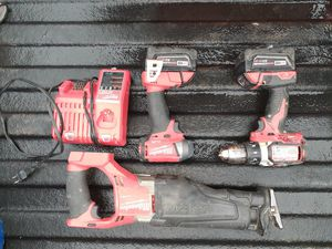 18 volt Milwaukee tools for Sale in Fayetteville, AR
