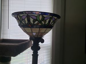 Pair of Tiffany style floor lamps for Sale in Delaware, OH