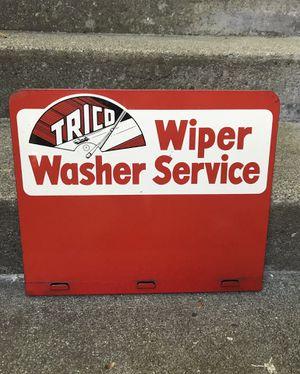 1950s Trico Windshield Wiper Rack Sign for Sale in Seattle, WA