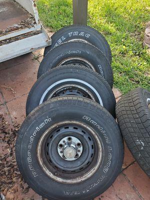 5 Rims size 15 for a c10 Silverado for Sale in Palm Springs, FL