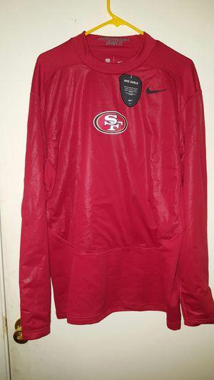 nike sf 49ers hyperwarm long sleeve for Sale in Sanger, CA