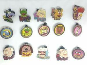 Vintage Circa 1980s Disney Muppet cast lanyard pin collection for Sale in Beaumont, CA
