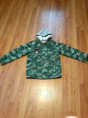 Army jacket with hoodies S -XL kids for Sale in US