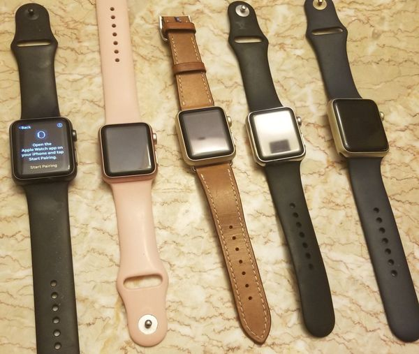 APPLE WATCHES FOR PARTS