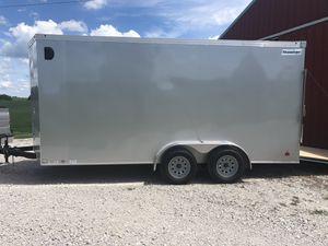 2019 16'x7' hallmark transport trailer for Sale in Springfield, VA