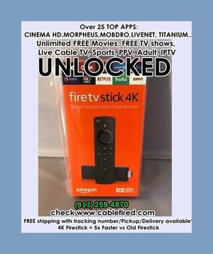 Fire TV stick 4k for Sale in New York, NY