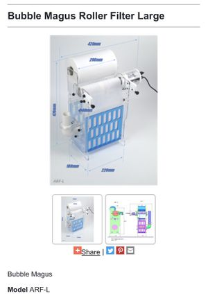 Bubble Magus (Roller Filter) for Sale in Monterey Park, CA