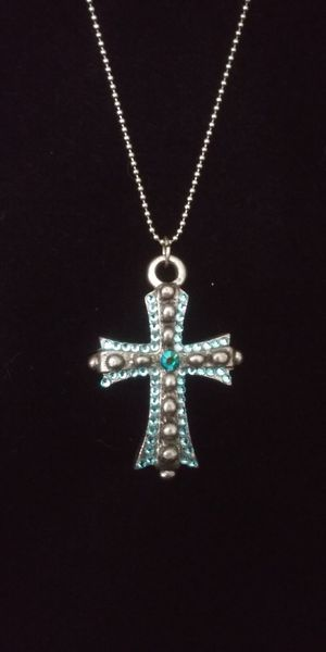 Turquoise cross for Sale in Oxnard, CA