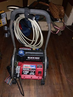 BLACK MAX pressure washer for Sale in Houston, TX